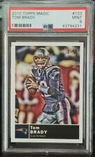 2010 Topps Magic Tom Brady #103 PSA 9 graded.....