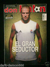 DON BALON 1447 REAL MADRID BECKHAM -BARÇA-BOCA JUNIORS-RIVER PLATE-VALLADOLID