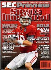 Sports Illustrated Magazine 2012 SEC Football Alabama Crimson Tide AJ MCCARRON