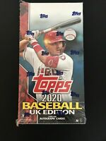 2020 Topps Baseball UK Edition Hobby Box Factory Sealed In Hands - Ready To Ship