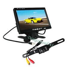 """Cámara de marcha atrás para automóvil + Kit de monitor de visión trasera de 7 """""""