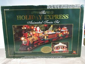 New Bright The Holiday Express Animated Train Set #384