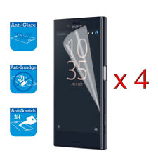4 x Screen Cover Guard Shield Film Foil For Sony Xperia XZ1 Compact Protector
