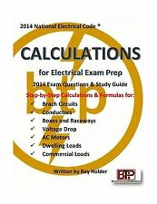 Calculations for Electrical Exam Prep 2014 Free Shipping