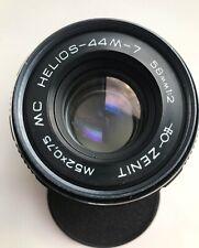 MC HELIOS 44M-7 58mm f/2 M42 mount Soviet Lens for Zenit, Pentax, Canon, Nikon
