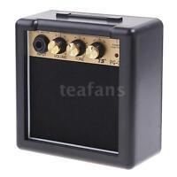 Electric Guitar Practice Amp Amplifier Speaker 3W Powerful Sound Portable J8O0