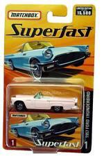 2004 Matchbox Superfast #01 1957 Ford Thunderbird