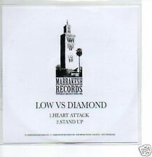 (P387) Low vs Diamond, Heart Attack / Stand Up - DJ CD