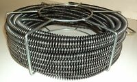"""60' x 5/8"""" Sectional Pipe Drain Cleaning Cable Model S75 fits RIDGID ® C8 Cable"""