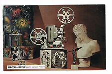 1957 Bolex Ad for 8mm Movie Camera & Projector - Tuttle Cameras Long Beach CA