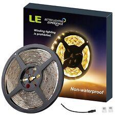 LE Flexible LED Strip Lights 300 Units SMD 3528 LEDs 5m 12V DC Non-waterproof...