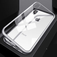 360 Magnetic Adsorption Case For iPhone SE/5 5s Xs Max Tempered Glass Cover+Film