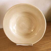 """Pottery Barn Sausalito Large Rim Soup Bowl  Amber   10 1/4"""""""