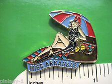 Miss Arkansas -   hat pin, lapel pin, tie tac , hatpin