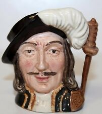 """1955 VINTAGE ROYAL DOULTON ATHOS From 3 MUSKETEERS Toby Mugs Jug 3 1/2"""" D6509"""