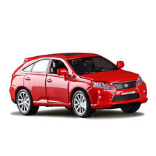 LEXUS RX450 SUV 1:32 Model Cars Toy Sound&Light Collection Red New Alloy Diecast