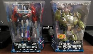 Transformers Prime First Edition Optimus Prime and Bulkhead