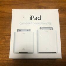 NIB Apple 30-Pin iPad Camera Connection Kit SD Reader MC531ZM/A [A1362 A1358]
