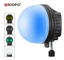 TRIOPO MagDome Color Filter, Reflector, Honeycomb, Diffuser Ball Kit