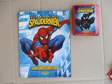 AMAZING SPIDERMAN - PANINI - ALBUM AND 20 UNOPENED PACKS WITH STICKERS