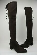 Stuart Weitzman Thighland Brown Over The Knee Boots Size 8.5 M