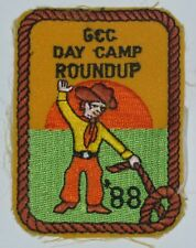 Grand Canyon Council (AZ) 1988 Day Camp Roundup Pocket Patch  BSA