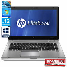 HP Elitebook 8470p Laptop Core i5  8GB RAM 14 Zoll Profi Notebook 500 GB HDD