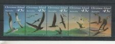 C586 Christmas islands 379/83 postfris Vogels