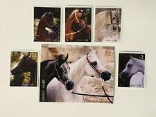 More details for jordan - 2004 arabian horses rare set  - mnh
