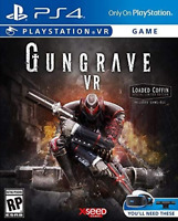 Gungrave VR - Loaded Coffin Edition, Virtual Reality PS4 Game, PlayStation 4
