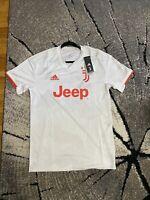 adidas Juventus 19/20 Away Jersey DW5461 Men's Size M - Raw White/Red Orange