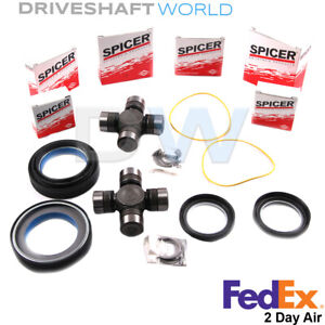 Front Axle Seal And Universal Joint Kit Ford F350 Excursion Dana 50 OR 60 50381
