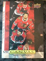 UPPER DECK 2019-2020 SERIES ONE BRENT SEABROOK CANVAS HOCKEY CARD C-51