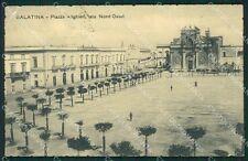 Lecce Galatina PIEGA cartolina XB1388