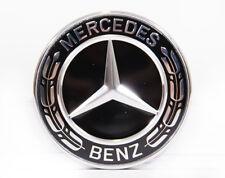 Original Mercedes Benz Emblem Motorhaube schwarz CLK 209 auch AMG, A0008171601
