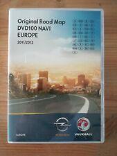 DVD OPEL Navigation DVD 100 NAVI / EUROPA 2012 / ANTARA CORSA D  Delpi systems