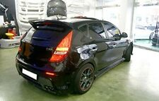 Rear Spoiler Glossy Matte Black For Hyundai Elantra Touring i30 2008 2011