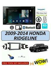 Fits HONDA RIDGELINE 2009-2014 Stereo Kit, BLUETOOTH TOUCHSCREEN SIRIUS XM