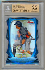 2013 Bowman Top 100 Prospects Christian Yelich Rc Die Cut Refractor /99 Bgs 9.5
