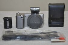 Sony Alpha NEX-5 14.2MP Digital Camera - Silver (Body Only) + Accessories