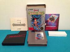 Castlevania II: Simon's Quest  NES Box-cartridge-manual & some inserts