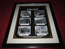 NHL ORIGINAL 6 SIGNED FRAMED 16X20 BOWER CHEEVERS KELLY DUFF HOWELL PILOTE