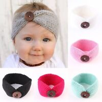 Cute Kids Girl Baby Headband Toddler Knit Crochet Hair Band Accessories Headwear