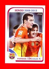 FC BARCELONA 2012-2013 Panini - Figurina-Sticker n. 94 - SERGIO -New