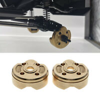 2pcs Brass Steering Gear Cover Counterweight for 1:10 Axial SCX10 III RC Car DIY