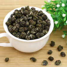 100G CHINA ORGANIC PREMIUM JASMINE DRAGON PEARL BALL NATURAL GREEN TEA PRESENT