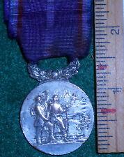 """XM06 French medal from the """"societe des cheveiers du devoir"""""""