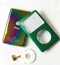 NEW Green front faceplate back case cover housing click wheel for ipod classic