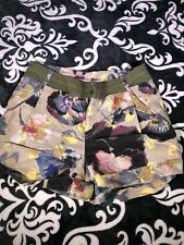 Rachel And Roy Womens Multicolor Floral Shorts Sz 4 A3