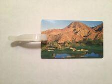 Rare The Vintage Club Golf Bag Tag - Indian Wells, California - A Beauty!